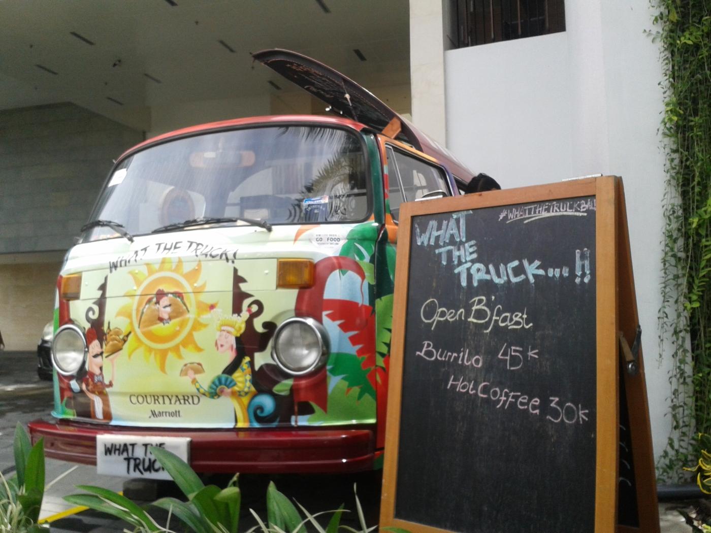 Truck food balinais